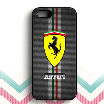 Ferrari horse iPhone 5 and  5s case