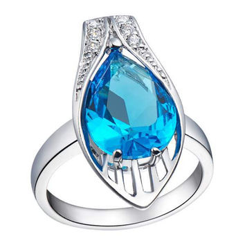 Silver Gemstone Accessories Ring = 5839637825