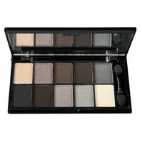NYX Cosmetics Eye Shadow Palette 10 Color, Smokey Eyes, 0.49-Ounce