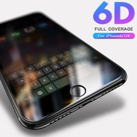 6D Glass for iPhone 7 glass iphone 8 Screen Protector glass For iPhone 6 6s 8 7 Plus Tempered Glass for iPhone 7 8 6 6s 6plus