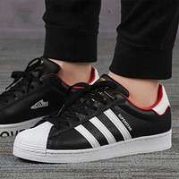 ADIDAS SUPERSTAR men's and women's shell classic casual sneakers shoes