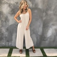 Lounge With Me Linen Jumpsuit