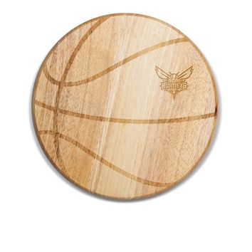 Charlotte Hornets - 'Free Throw' Basketball Cutting Board & Serving Tray by Picnic Time