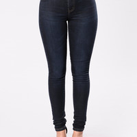 Love To Love You Jeans - Dark Blue