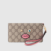 Gucci iPhone 6 Plus case with embroidered face