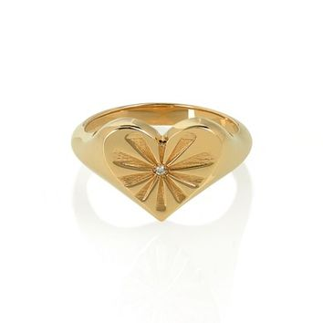 Marlo Laz Heart Pinky Ring | Nordstrom