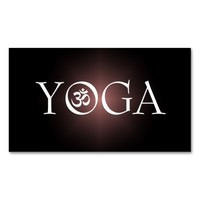 YOGA Instructor Business Card Pack Of Standard Business Cards