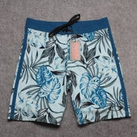 Top Quality 2017 New Hot Mens Shorts Surf Board Shorts Summer Sport Beach Homme Bermuda Short Pants Quick Dry Silver Boardshorts