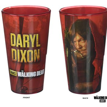 The Walking Dead OFFICIAL Daryl Dixon #TeamDaryl PREMIUM Pint Glass, 16oz