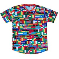 Africa Nations Flags Soccer Jersey