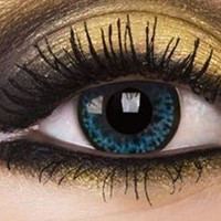 Diva Blue Colour Contact Lenses, Diva Blue Colour Lens | EyesBright.com