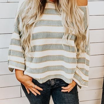 Thanks A Latte Sweater- Teal