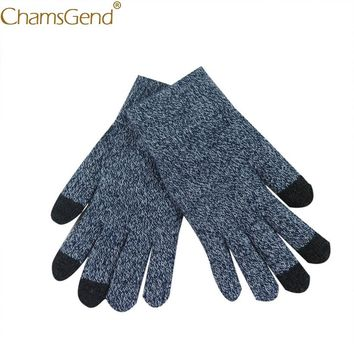 Chamsgend Free Shipping Newly Design Women Men Knit Cashmere Wrist Gloves Mobile Phone Text Play Mittens 71019 Drop Shipping