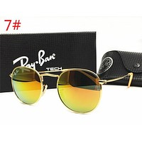 Ray Ban Fashion Ladies Men Delicate Summer Sun Shades Eyeglasses Glasses Sunglasses Green Yellow  I-MYJ-YF