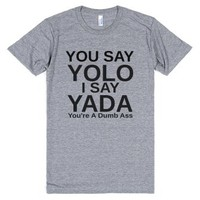 yada-Unisex Athletic Grey T-Shirt