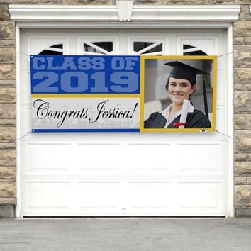 Personalized Graduation Banner - No.1050