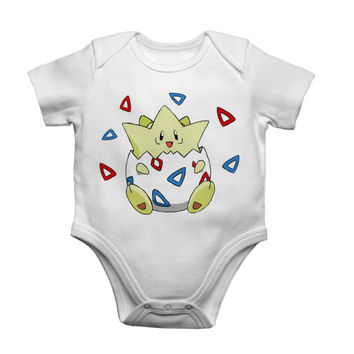 Togepi Pokemon Baby Bodysuit