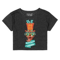 Just Be yourself-Female Heather Onyx T-Shirt