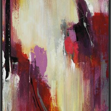 SUN KISSED II 22L X 28H Floater Framed Art Giclee Wrapped Canvas