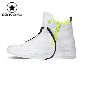 Original New Arrival Converse Selena Shield Canvas Unisex High top Sneakers