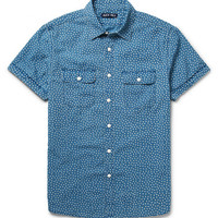 Alex Mill - Roadhouse Printed Cotton-Chambray Shirt | MR PORTER