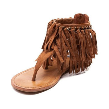 Keep The Peace Not Rated Sandals Tan