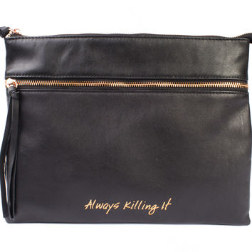 Dapper Diction Always Killing It Pouch