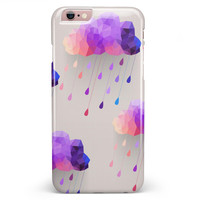 Geometric Rain Clouds iPhone 6/6s or 6/6s Plus INK-Fuzed Case