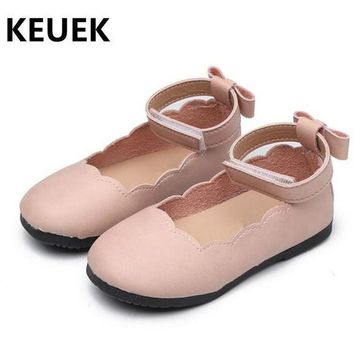 Children Shoes Spring/Autumn Baby Toddler Leather Shoes Girls Fashion Mary Jane Flat H