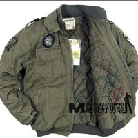 Outdoor climbing desert cross camping Apparel Jacket  101st Airborne Division supper Thicking Inner warm windproof warm