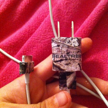 Camo iPhone charger by KayleesKrafts15 on Etsy