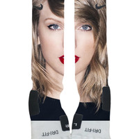 Custom Nike Elite Socks-Taylor Swift