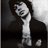 Rolling Stones Mick Jagger London 1975 Poster 24x33