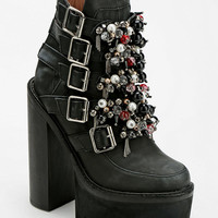 Jeffrey Campbell X-File Treaded Platform Ankle Boot - Urban Outfitters