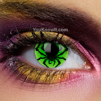 Crazy Contact Lenses | Alchemy Poison Spider Contact Lenses (Pair)