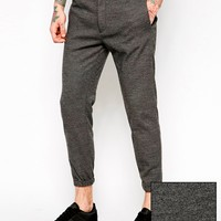 ASOS Skinny Fit Smart Joggers In Premium Fabric