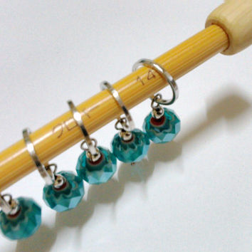 knitting accessories | stitch markers | tools | id1310610 | gift for knitters | yarn | pattern markers | beaded | supply | gift ideas