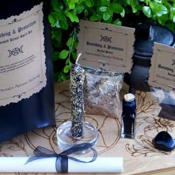 CRONE'S BANISHING & PROTECTION Ultra by ArtisanWitchcrafts on Etsy