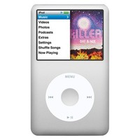 Apple iPod classic 160GB MP3 Player (7th Generation) - Silver (MC293LL/A)