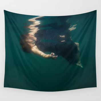 Connect Wall Tapestry by Nicklas Gustafsson