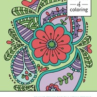 The Craft of Coloring 30 Paisley and Henna Designs: An Adult Coloring Book