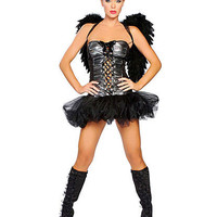 Naughty Dark Angel Costume | Sexy Clothes Womens Sexy Dresses Sexy Clubwear Sexy Swimwear | Flirt Catalog