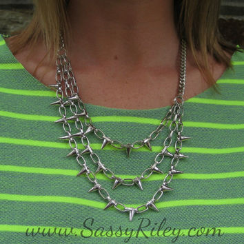 You Got Spiked Necklace