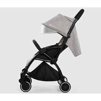 Lightweight Baby Stroller Suitable for Spring Summer Fold able Travel Umbrella Pram Easy to Put Into Airplane and Train