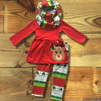 Aztec Reindeer Scarf Outfit