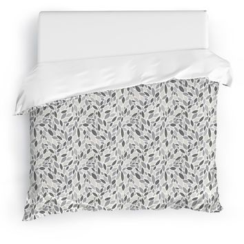 AUTUMN SPRING NATURAL Duvet Cover By Tiffany Wong