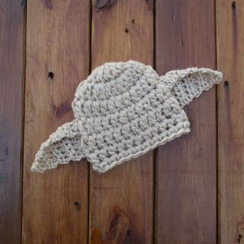 Harry Potter Dobby Hat Tan Newborn Baby Photo Prop