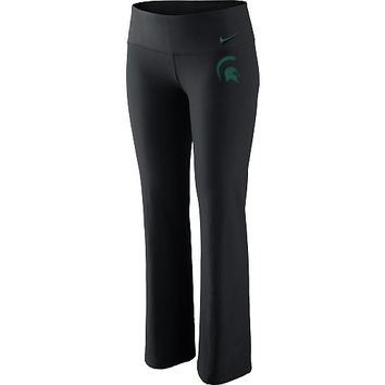 Nike Michigan State Spartans Women's Dri-FIT Pants - Black