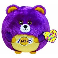 Amazon.com: Ty Beanie Ballz Los Angeles Lakers - NBA Ballz: Toys & Games