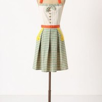 Bahia Apron by Anthropologie in Turquoise Size: One Size Aprons